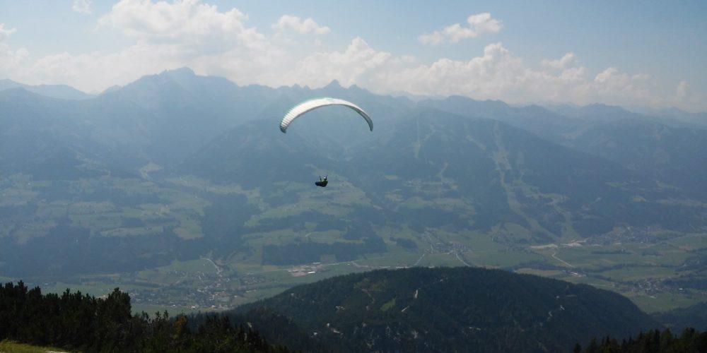 Para – Austria, okolice masywu Dachstein