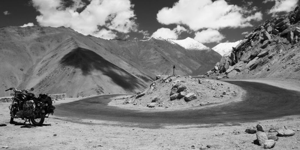 Mototrekking, Ladakh i… Pech