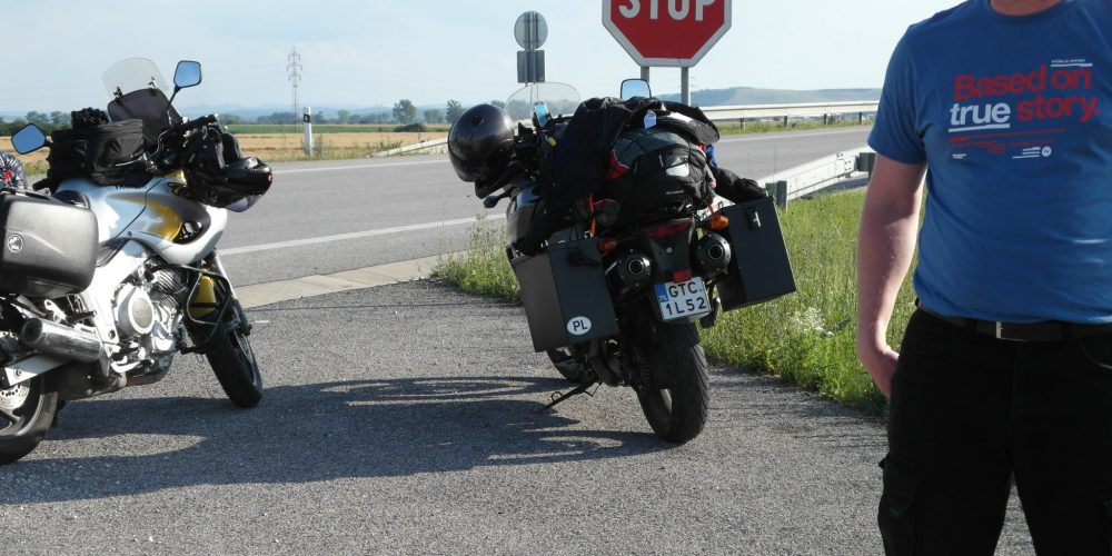 """Trasa Transfogarska -czyli motocyklowa przygoda typu """"Based on true story"""""""
